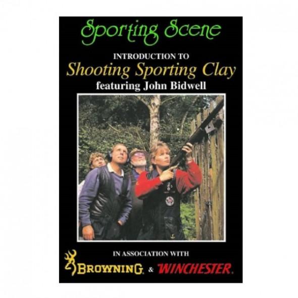 NEW John Rothery: Shooting Sporting Clay by J Bidwell DVD
