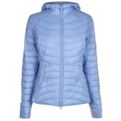 Barbour-Girls Ashore quilted hoody - Skyline