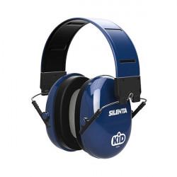 Swatcom-Silenta Kid 27 SNR folding Earmuffs - Blue