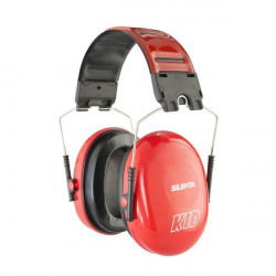 Swatcom-Silenta Kid 27 SNR folding Earmuffs - Red