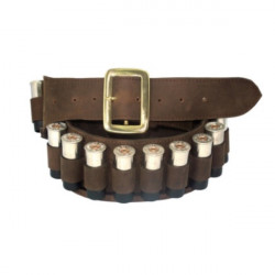 Teales Sporting Ltd-Devonshire 12 bore leather 25 cartridge belt oiled