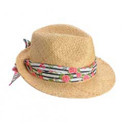 Barbour-British Waterways Fedora Hat Promenade Promenade