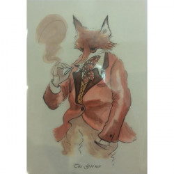 Leila Winslade-Card Farcical Foxes - The Gov'nor