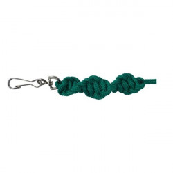 Sporting Saint -Twisted Lanyard - Emerald Green