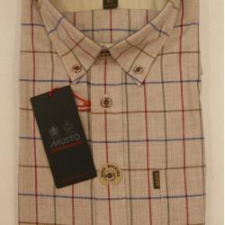 Musto-Button Down Collar Shirt Wray Check - Royal blue