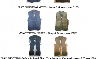 August Musto Clay Range Sale