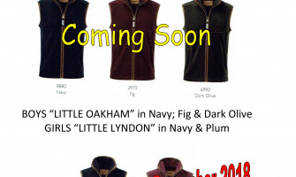 CHILDREN'S SCHOFFEL .. PRE ORDER NAVY NOW FOR CHRISTMAS!!