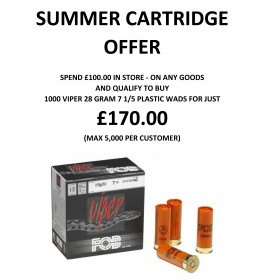 Summer Viper Cartridge Offer